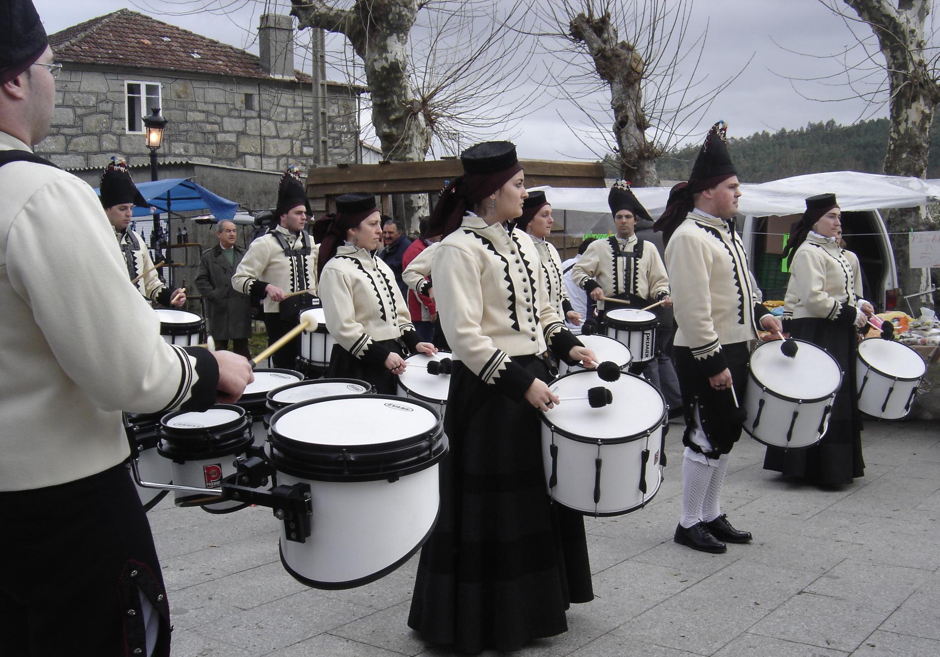 Percusionistas Carballeira